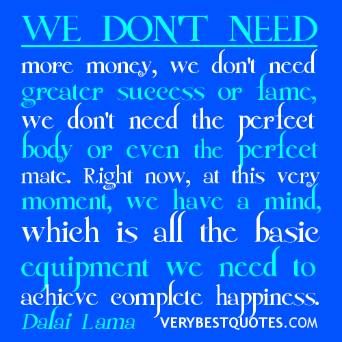 quotes-about-happiness-we-dont-need-money